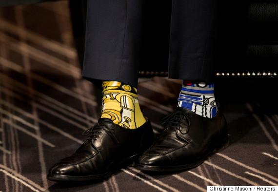trudeau socks
