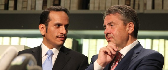 FOREIGN MINISTER OF QATAR AND GERMANY