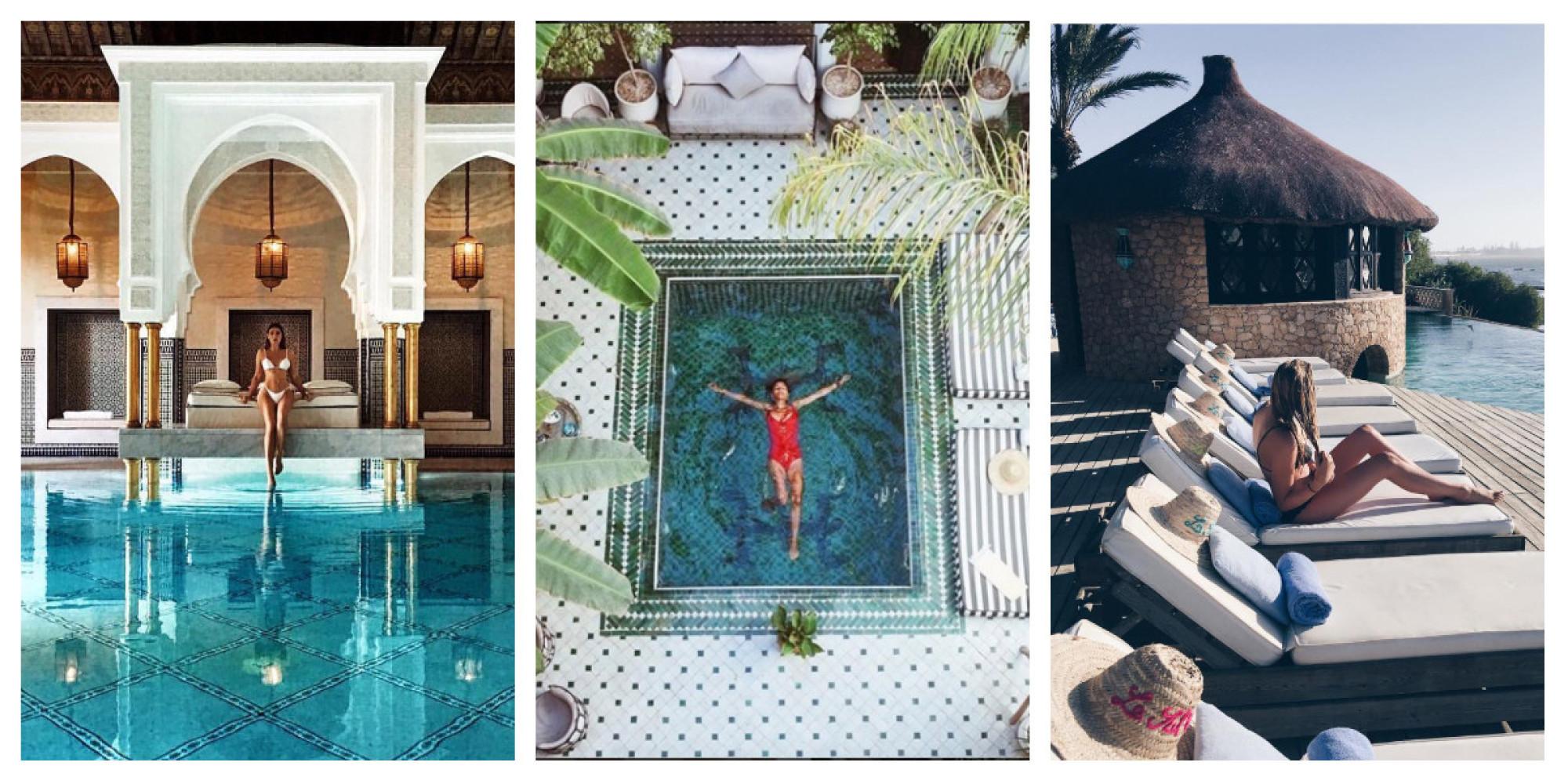 Les piscines les plus instagramables du maroc for Piscine demontable maroc
