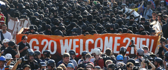 G20 PROTESTANTS