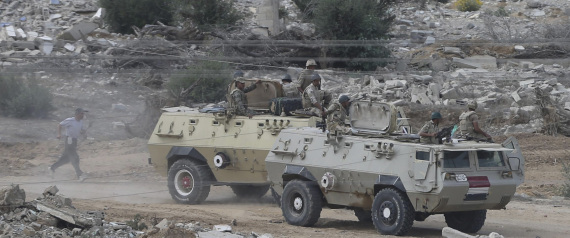 THE EGYPTIAN ARMY IN SINAI