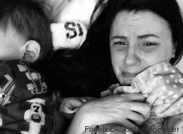 Sie fand ihren kleinen Sohn tot in seinem Bett - jetzt teilt die Mutter dieses tieftraurige Bild