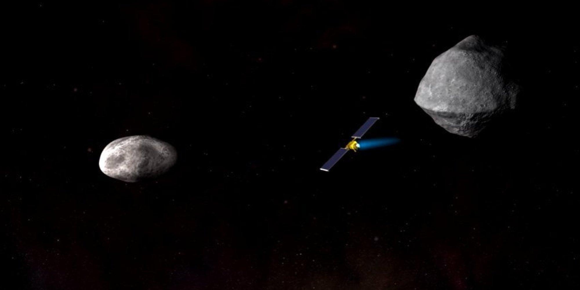 على غرار أفلام الخيال العلمي.. ناسا تخطط لتفجير كويكب في الفضاء قبل اصطدامه بالأرض!
