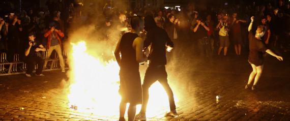 HAMBURG PROTEST
