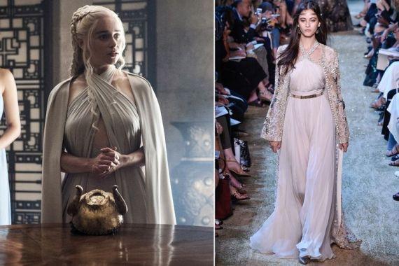 e17d90609 صور: مصمم الأزياء اللبناني إيلي صعب يستوحي مجموعة أزياء رائعة من ...
