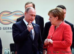 In nur einer Sekunde verrät Angela Merkel, was sie über Wladimir Putin denkt