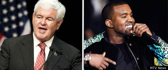 Mtv Newt Gingrich Kayne West