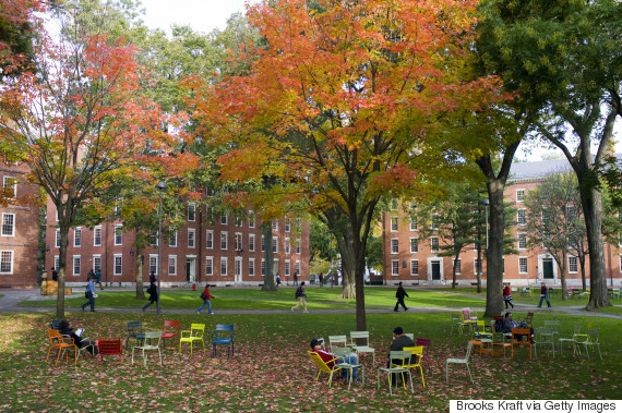 harvard yard campus