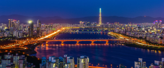 SEOUL RIVER NIGHT VIEW