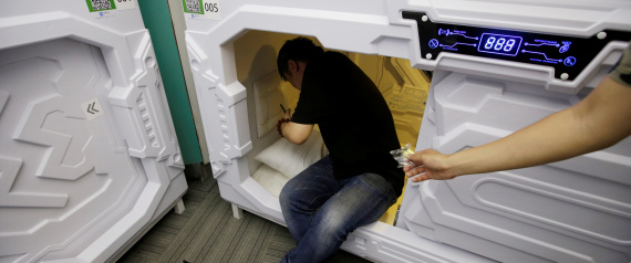 CAPSULES FOR SLEEPING IN CHINA