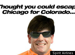 Blagojevich Spirit Airlines Denver Deal
