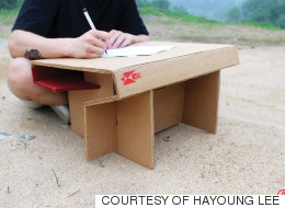 개발도상국 아이들을 위한 '책상'을 만든 대학생