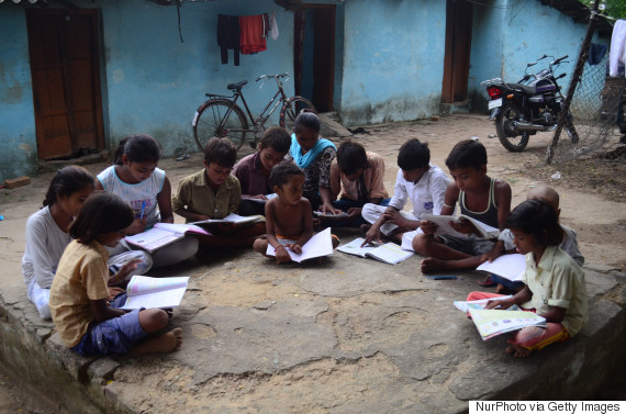 indian students slums
