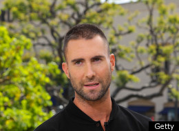 Adam Levine Buzz Cut