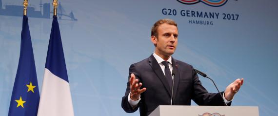 MACRON G20