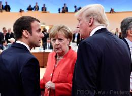 Merkel und Trump streiten um die Gunst von Emmanuel Macron - doch der französische Präsident hat eigene Pläne