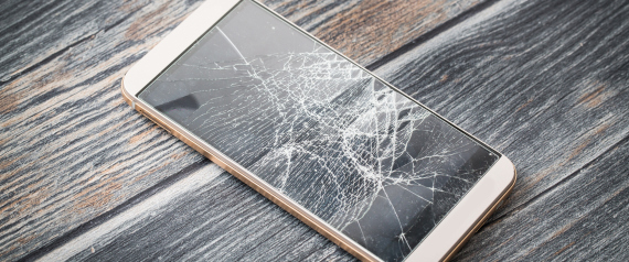SMARTPHONE DAMAGE