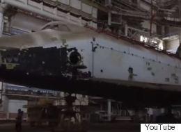 Βίντεο: Το ξεχασμένο σοβιετικό διαστημόπλοιο Buran μέσα σε εγκατελειμμένο υπόστεγο του κοσμοδρομίου του Μπαϊκονούρ