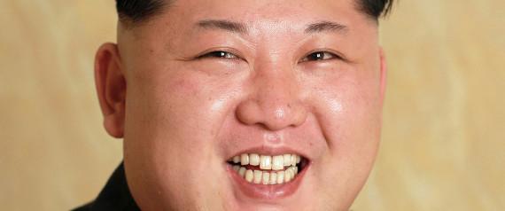 KIM JONGUN SMILE