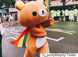 제 18회 퀴어문화축제 현장을 담은 트윗 모음