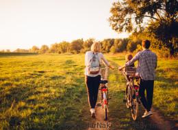 Tipps für einen Fahrradurlaub mit Baby