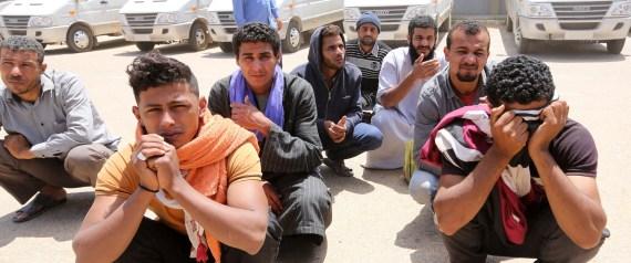EGYPTIANS IN LIBYA