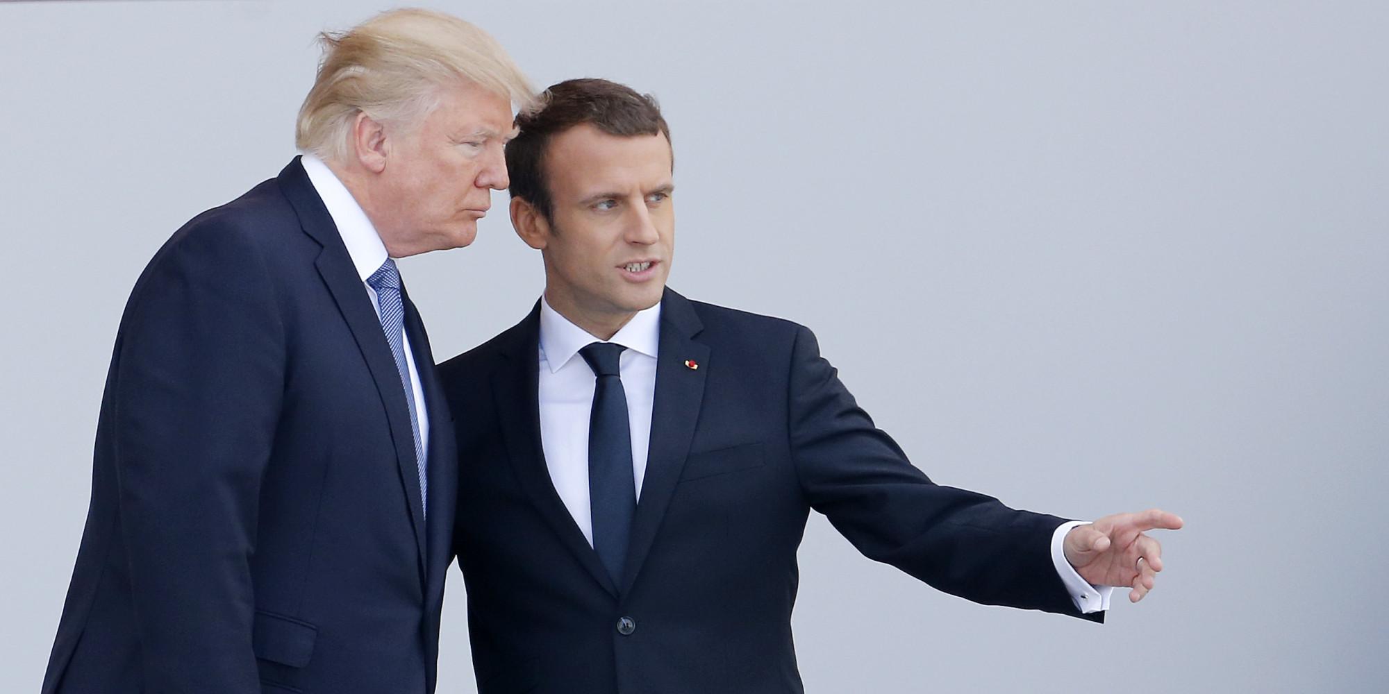 Μακρόν: Ο Τραμπ ίσως αντιστρέψει τη θέση του για τη συμφωνία του Παρισιού για το κλίμα