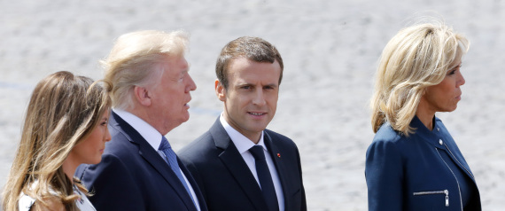 TRUMP AND THE FRENCH PRESIDENT