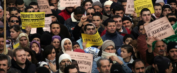 ISLAM MUSLIM PROPHET PROTEST ISLAMOPHOBIA
