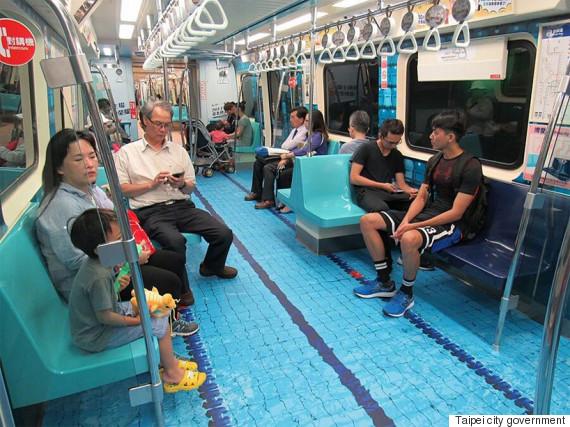 métro taïwan piscine