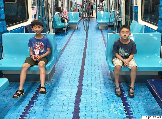 metro taïwan piscine