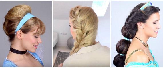 DISNEY PRINCESS HAIR