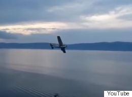 Βίντεο: Πτώση μικρού αεροσκάφους στη λίμνη Βαϊκάλη