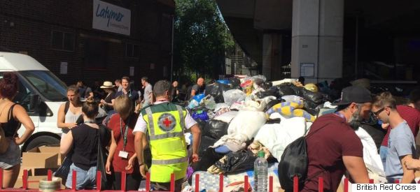 How We're Turning Grenfell Donations Into Cash For Victims