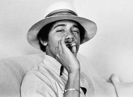 Obama Smokes
