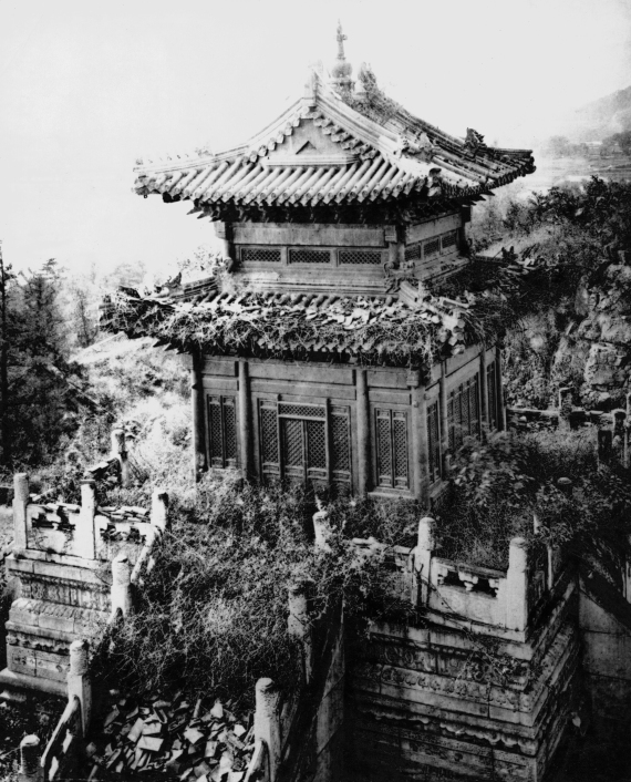 peking summer palace destroyed