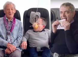 Η British Airways έφτιαξε το πιο αστείο (και βρετανικό) βίντεο οδηγιών πτήσης με τη βοήθεια διάσημων Άγγλων