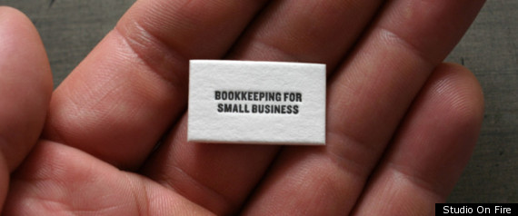 SMALLEST BUSINESS CARD