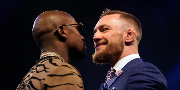 Floyd Mayweather says Conor McGregor has advantage on paper