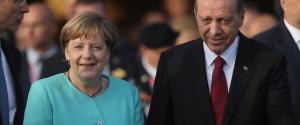 Merkel Erdogan Warschau