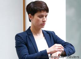 Umstrittenes Plakat: Frauke Petry will im Wahlkampf offenbar mit ihrem Baby werben