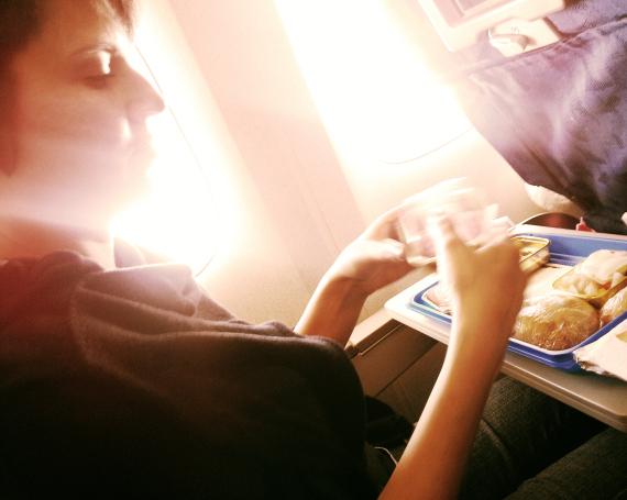 eating plane