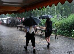 Unwetter versetzt Berlin in Ausnahmezustand - diese Bilder zeigen das Ausmaß des Chaos
