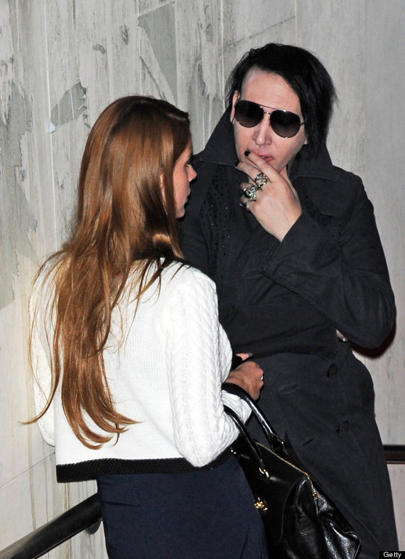 Lana Del Rey Marilyn Manson Gab About Something In Berlin