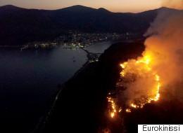 Πυρκαγιά στην Κέρκυρα. Υπό μερικό έλεγχο η φωτιά στη Μεσσηνία, σε ύφεση στη Μονεμβασιά