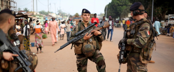 PEACEKEEPING FORCES IN CENTRAL AFRICA