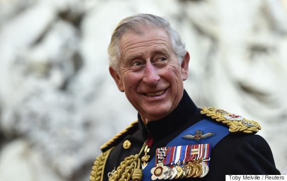 prince charles military
