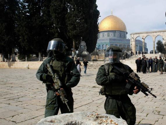 violence jerusalem