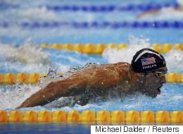 마이클 펠프스가 '상어'와 경주를 했다(동영상)