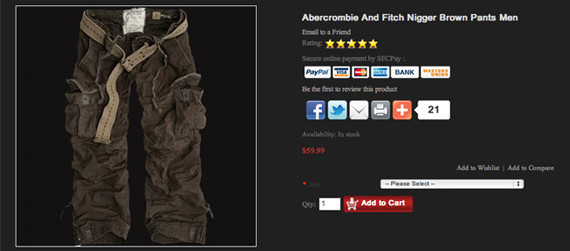 Abercrombie & Fitch Stores, in U.S. District Court by the U.S. Equal Employment Opportunity Commission, year-old Samantha Elauf said she applied, in June , for a sales position at the Abercrombie Kids store in the Woodland Hills Mall, located in Tulsa, Oklahoma.